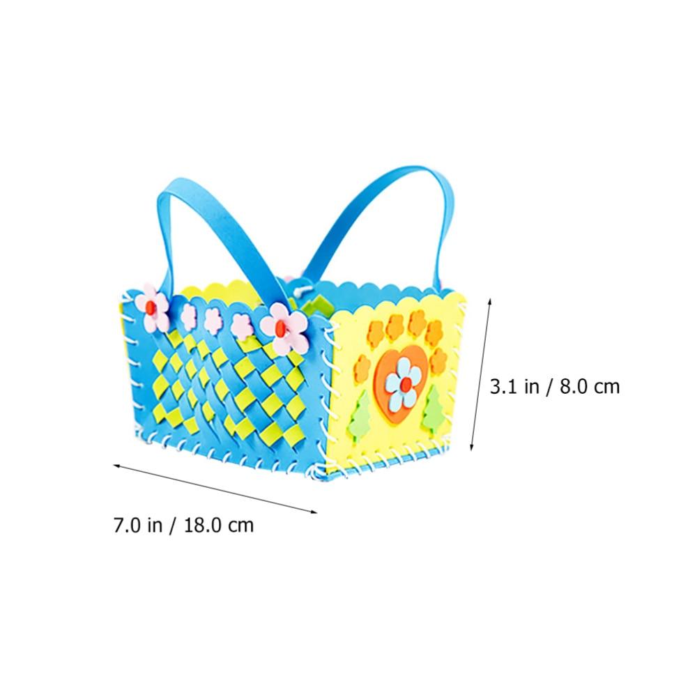 Hot Deals²Bouquet DIY Basket 4pcs Crafted Educational-Toy Fleur Fancy Simple Stylish