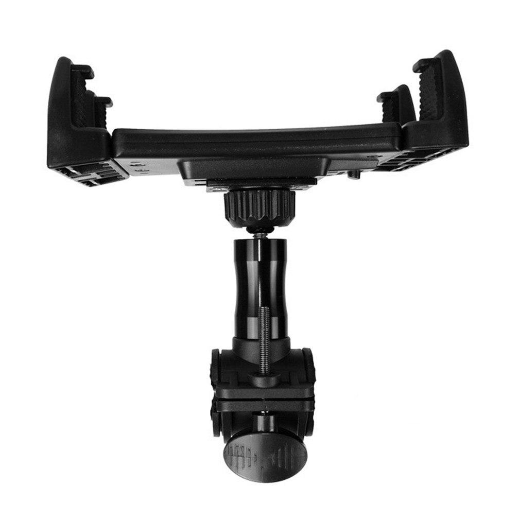 Flat Tube Lock Bracket Multi-Function Outdoor Mobile Phone Shooting Bracket Bicycle Buckle Fixing Seat Car Bracket