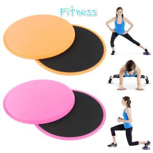 2 Pcs Gliding Discs Slider Fitness Disc Double-Sided Core Sliding Discs Yoga Slimming Abdominal Core Training Exercise Equipment