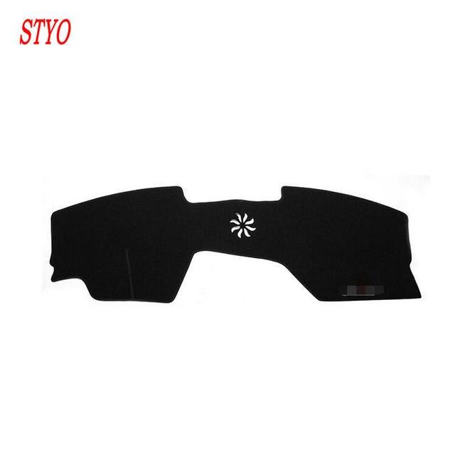 STYO Car dashboard Avoid Light Pad Instrument Platform Desk Cover Mat Carpets Trim For Mazda 3 2020