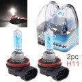 Галогенный светильник Blubs 12V H11 55W 6000 K  белый светильник  супер яркий автомобильный ксеноновый галогенный светильник  автомобильная передняя...