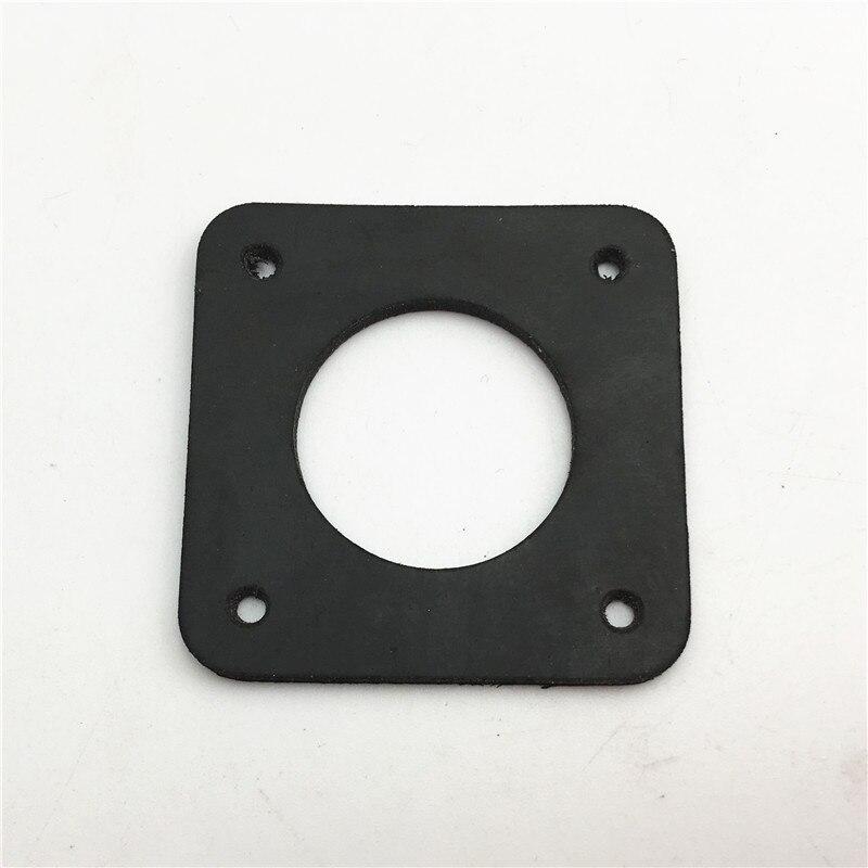 2pcs 2mm Anti Vibration Rubber Dampers Instead Of Cork NEMA 17 Stepper Motor Damper Isolator For 3D Printer Nema17 Stepper Motor