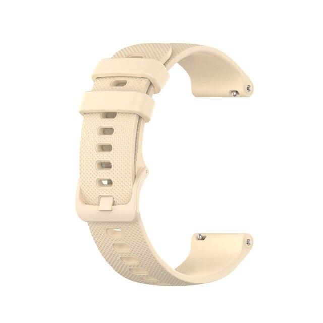 20mm Silicone Bracelet de montre pour HUAWEI montre GT 2 42mm Sport édition Bracelet pour honneur montre magique 2 42mm Bracelet