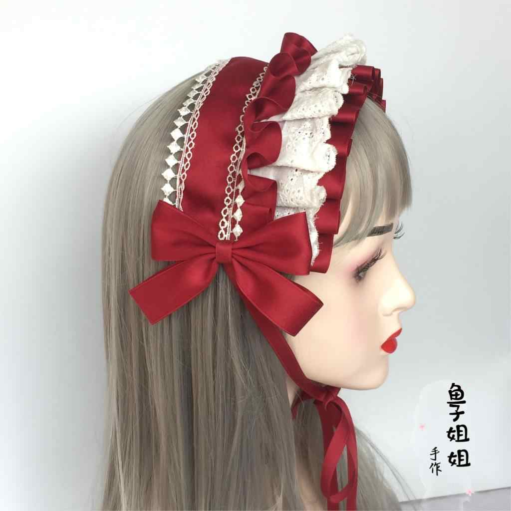5pcs Elastic Rope Ring Hairband Women Hair Band Ponytail Holder Sports Lolita