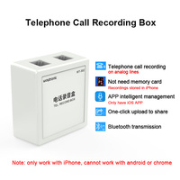 Telephone Call Recorder,record telephone voice without computer,date & time stamp on recorded file,auto get power from line