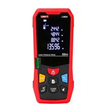 UNI-T LM60 Laser Rangefinder Digital Laser Distance Meter Laser Range Finder Tape Distance Measurer new uni t ut390b laser range finder distance meter area volume lcd meter 0 05m 45m