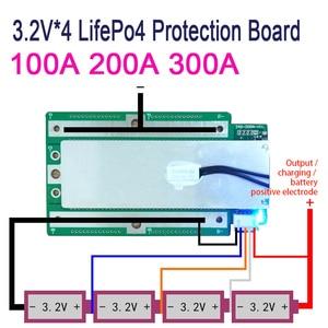 Image 3 - 4S 100A 200A 300A 3,2 V LifePo4 Защитная плата 12,8 V автомобильный стартовый инвертор BMS PCB 100% абсолютно новый и высококачественный