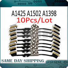 """Lote de 10 unidades de Cable LCD para Macbook Pro, Retina de 13 """", A1425, A1502, 15"""", A1398, Cable de pantalla LED LVDs, años 2012 a 2015"""