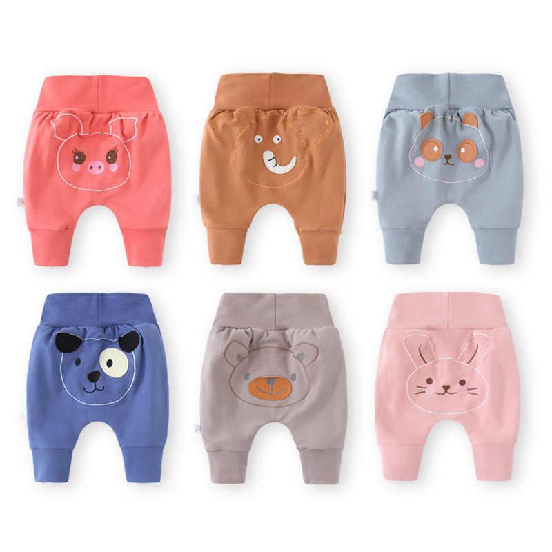 Pantalones De Licras De Bebe Informales Ropa Infantil Suave Con Dibujos Animados Para Nino Y Nina Pantalones Bombachos De Otono Pantalones Aliexpress