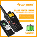 Talkie Walkie Dual Band UHF VHF Ham Radio HF Transceiver Radio Station Communication Radios Quansheng TG-K4ATUV Intercom Hunting