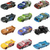 Nueva gran oferta de Disney Pixar coches 3 Rayo McQueen Mater Z o tormenta Ramírez 1:55 Diecat metálica del vehículo coches de juguete de aleación para niños
