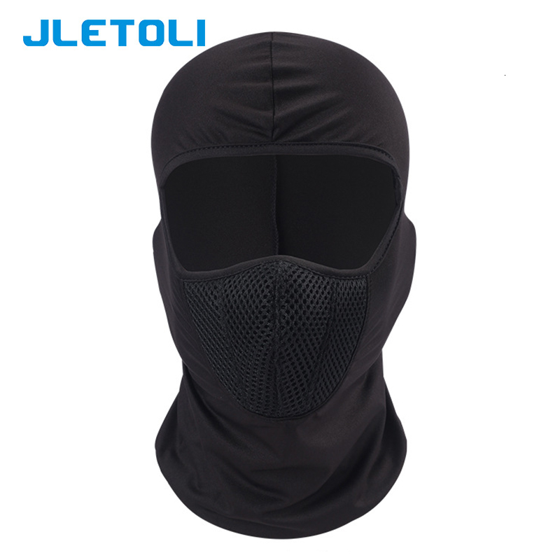 H0ba4539a3e194da8a540cc6c790eb6a2L JLETOLI Windproof Facemask Dustproof Mask Outdoor Cycling Face Cover Face Mask Snow Skiing Running Hiking Head Warmer for Men