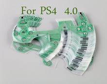 10 Chiếc Ban Đầu Mới Cho Máy Chơi Game Playstation 4 Bộ Điều Khiển Dẫn Điện Phim Thay Thế Cho PS4 JDM 040 4.0 Phiên Bản Mới Flex Dây Ruy Băng