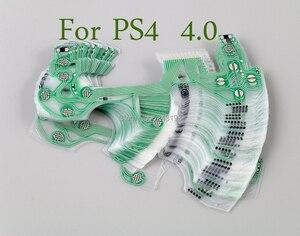 Image 1 - 10 Chiếc Ban Đầu Mới Cho Máy Chơi Game Playstation 4 Bộ Điều Khiển Dẫn Điện Phim Thay Thế Cho PS4 JDM 040 4.0 Phiên Bản Mới Flex Dây Ruy Băng