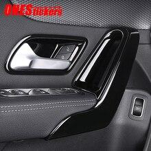Mercedes Benz için bir CLA sınıfı W177 V177 C118 W118 AMG A35/45 CLA35 CLA45 2019 2020 araba kapı kol dayama kolu kase kapağı Trim çerçeve