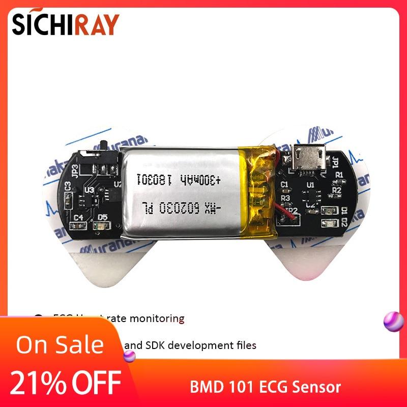 Sensor De Frecuencia Cardíaca BMD101 ECG Para Arduino Segundo Desarrollo HRV Biofeedback Smart Bluetooth Dispositivos Portátiles