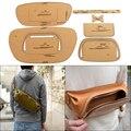 1Set DIY Kraft Papier Vorlage Neue Mode Brust Tasche Schulter Tasche Leder Handwerk Muster DIY Schablone Nähen Muster 38cm * 17,5 cm