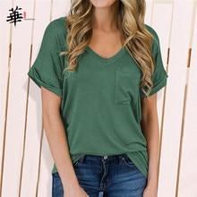 Wysokiej jakości topy podstawowe zwykły koszule dla kobiet ponadgabarytowych T koszula Top kobiet Leopard kieszeń odzież Plus Size kobieta koszulki