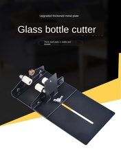 2-15 Stainless Steel Glass Bottle Cutter DIY Tool Waste Bottle Cutter Wine Bottle Cutting Tool Bottle Processor