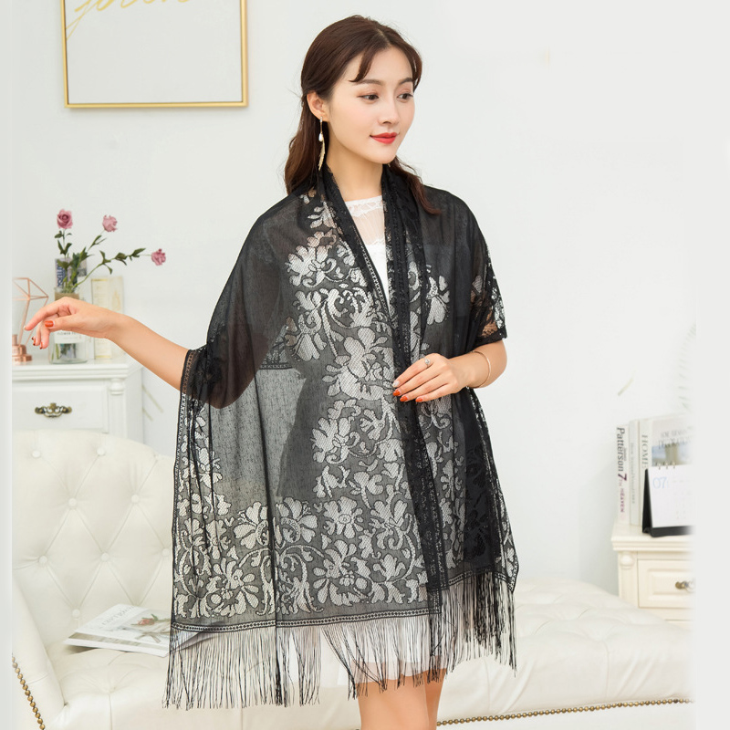 8 Colors Lace Bolero Fiesta De Mujer Evening Dress Cape Bolero Mariage Women Wedding Coat Wraps And Shawls Femme Scarf Shrugs