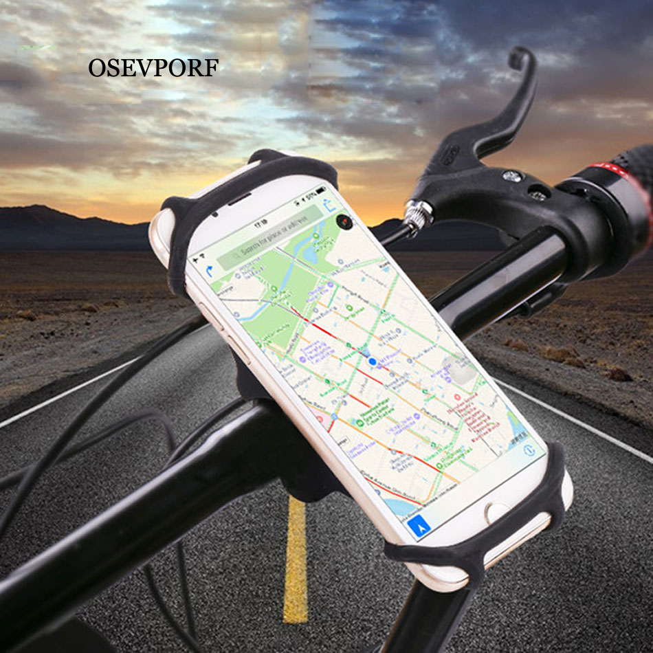 Bicycle <font><b>Phone</b></font> <font><b>Holder</b></font> For iPhone 11 X 7 <font><b>Samsung</b></font> <font><b>S9</b></font> Universal Mobile Cell <font><b>Phone</b></font> <font><b>Holder</b></font> <font><b>Bike</b></font> Handlebar Clip Stand GPS Mount Bracket image