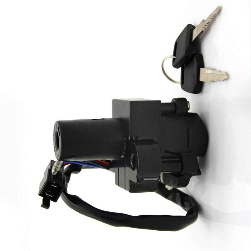دراجة نارية قفل باب كهربائي لهوندا CBR1100XX NX500 NX650 المسيطر VFR750F VFR800Fi CB1000F VTR1000F XLV400 XLV600 Transalp