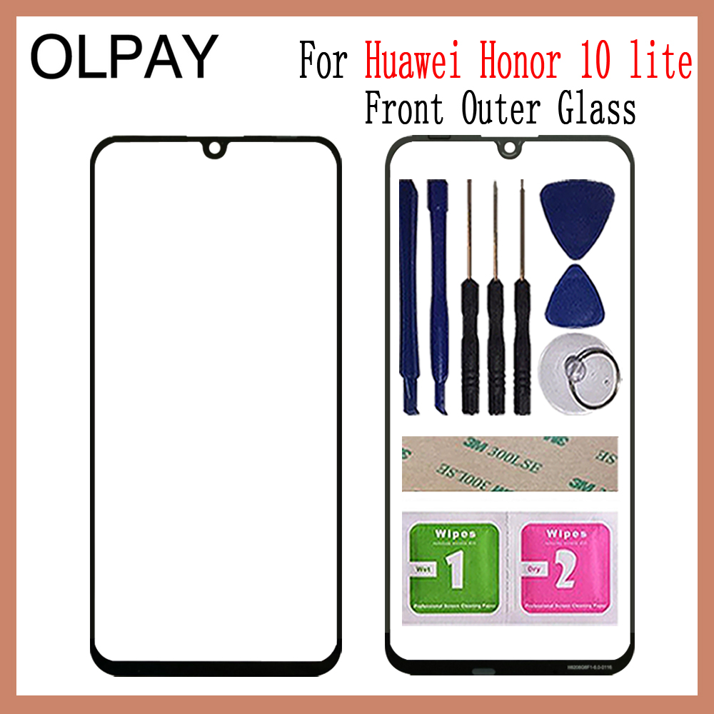 Front Panel Glass For Huawei Honor 10 Lite 10Lite 6.21