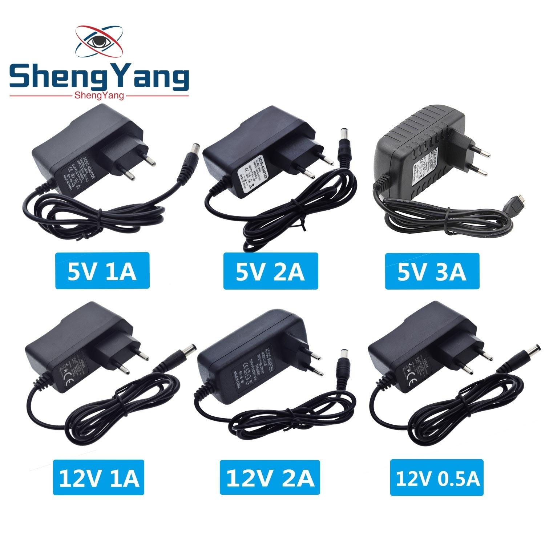 100-240V adaptateur secteur ca/cc 5V 9V 12V 1A 2A 3A 0.5A prise ue 5.5mm x 2.5mm prise Micro USB pour Arduino