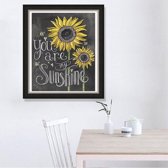 """الماس اللوحة الحفر الكامل مربع/الجولة Daimond اللوحة """"السبورة الرسم أشعة الشمس بطاقة النص الفن"""" التطريز"""