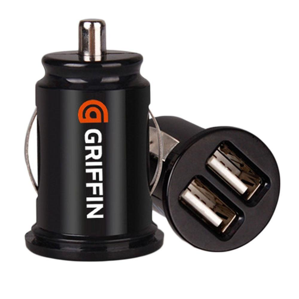2.1A Dual USB Car Charger 12-24v 2 Port Cigarette Socket Lighter Fast Car Charger Power Adapter Car Styling