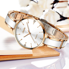 SUNKTA Women Watch Ceramic Simple Diamond Clock Casual Fashion Sport Waterproof Wristwatch Relogio Feminino