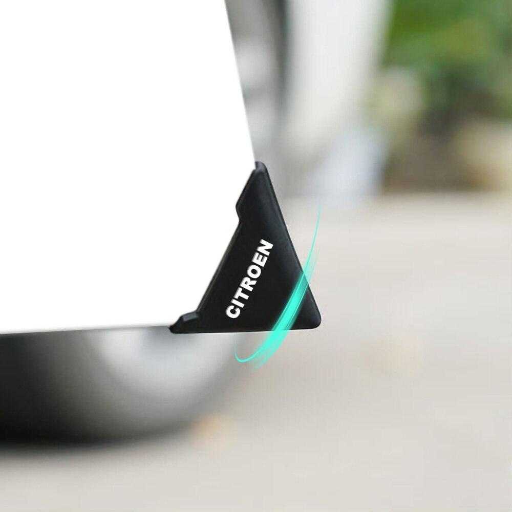 2PCS Car Door Corner Cover Bumper Protector Anti-Scratch Sticker For Citroen C4 C1 C5 C3 C6 C5 C8 DS C-ELYSEE VTS C4l Xantia DS3