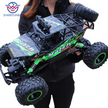 1:12 4WD RC car update version 2.4G radio remote control car car toy car 2017 high speed truck off-road truck children's toys(China)