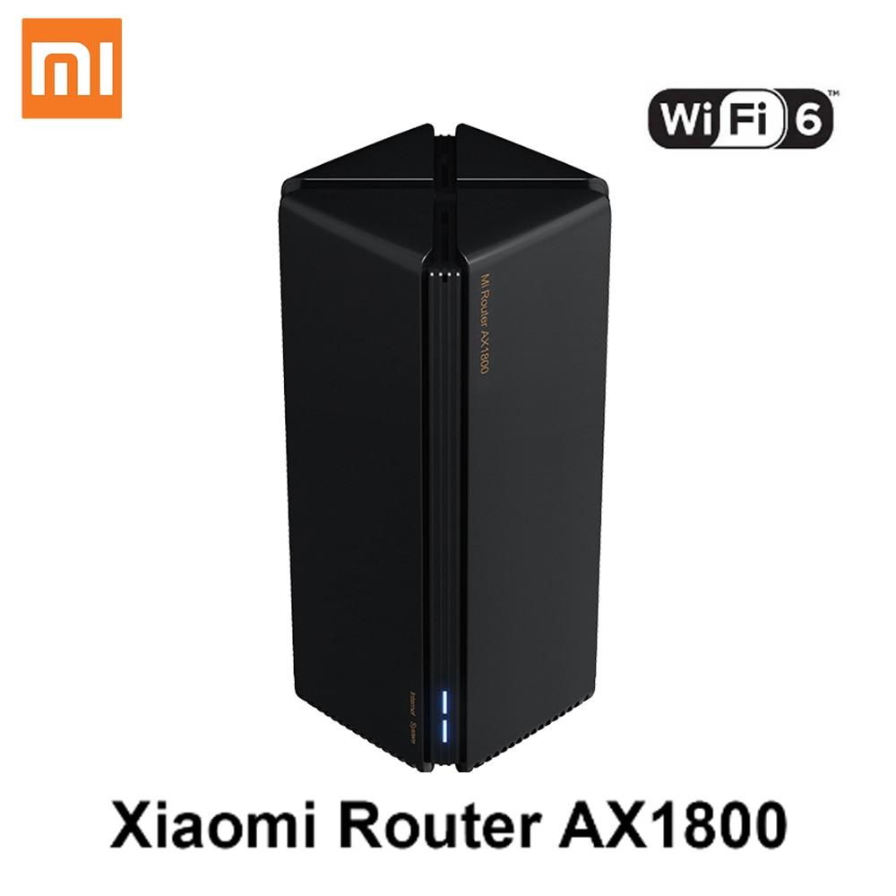 New Xiaomi Router AX1800 Qualcomm Five-core Wifi6 2,4G 5,0 GHz Full Gigabit 5G Dual-frequency Home Wall-penetrating King