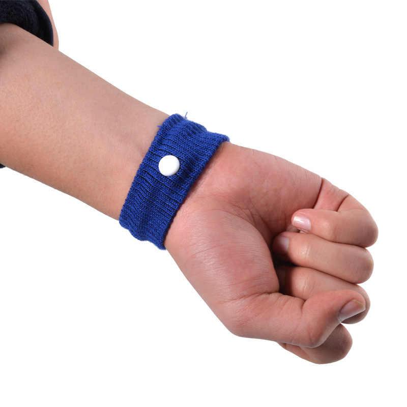 2 uds. Bandas antináuticas-100% alivio Natural de los viajes, el movimiento y las enfermedades de la mañana-Juego de 2 pulseras de acupresión