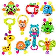 10 pçs bebê chocalho musical mordedor, brinquedo, brinquedos educativos, conjunto de brinquedos precoce, brinquedos educativos, mês do bebê, infantil recém-nascidos #10