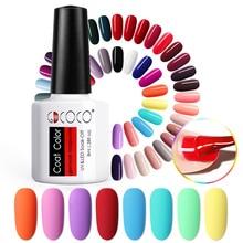 70312 # 저렴한 롱 라스팅 젤 네일 폴리시 VENALISA 공급 50 색 GDCOCO UV LED 젤 바니시 코트 컬러 폴리쉬 젤