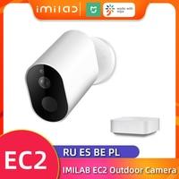 Telecamera di sicurezza domestica Wireless EC2 telecamera Mihome telecamera 1080P HD telecamera Wifi esterna IP66 telecamera CCTV telecamera di sorveglianza Vedio