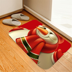 2020 Christmas Mat Outdoor Carpet Doormat Santa Ornament Christmas Decoration for Home Xmas Navidad Deco Noel New Year Gift #2(China)