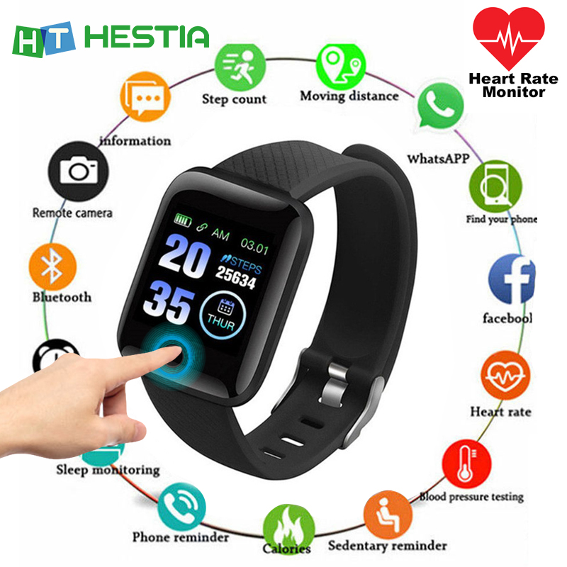 Smart <font><b>Watch</b></font> Men <font><b>Blood</b></font> <font><b>Pressure</b></font> Waterproof Smartwatch Women Heart Rate Monitor Fitness Tracker <font><b>Watch</b></font> Sport For Android IOS pk b57 image