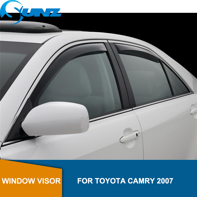 Window Visor for TOYOTA CAMRY 2018 side window deflectors rain guards SUNZ