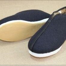 Sneakers Taiji-Shoes Kung-Fu Wushu Martial-Arts Blue Winter Tai-Chi Handmade Warm Eu37--Eu48
