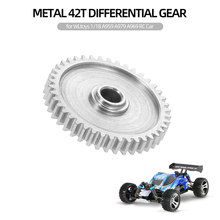 Metalen 42T Differentieel Crown Gear Reduction Gear voor WLtoys 1/18 A959 A979 A969 RC Auto(China)