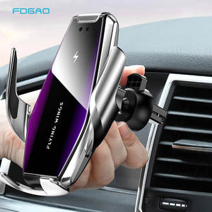 FDGAO Phone-Holder Fast-Charger Automatic Clamping Samsung S9 for 15W Car 11 Pro XS Max-Xr