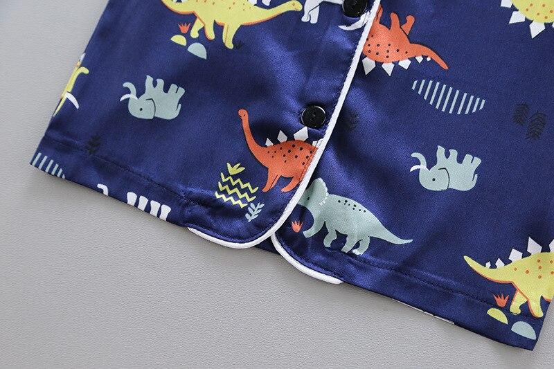 2020 Popular Home Clothes Children's Pajamas Children's Clothes Long Sleeves Kids Pajamas Kids Clothes 4