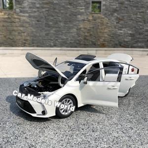 Image 3 - Modèle de voiture moulé sous pression pour toutes les nouvelles Corolla 2019 (blanc) + petit cadeau!!!!