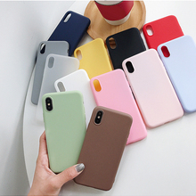 For Xiaomi Redmi Note 7 8T 8 Pro 6 5 Plus 4 4X 5A 6A Case Soft Silicone Cover For Red