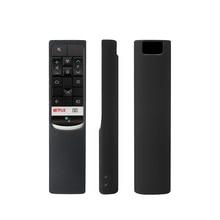 Tcl rc602s 음성 검색 원격 커버에 대 한 sikai 원격 케이스 tcl 스마트 원격 제어 tv 실리콘 커버에 대 한 원격 커버