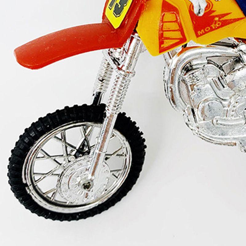 Mini Finger Bicycle Motorcycle Set Bike Fingerboard DIY Creative Game Skateboard