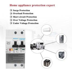 Image 3 - Ikinci nesil 2P WiFi akıllı devre kesici ile enerji izleme ve metre fonksiyonu Amazon Alexa ve Google ev